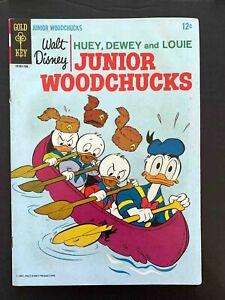 HUEY DEWEY AND LOUIE JUNIOR WOODCHUCKS #2 GOLD KEY COMICS 1967 VG/FN