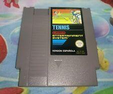 Juego Nintendo Nes Tennis Versión Pal B España 100% Original