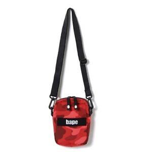BAPE Camouflage Bag Casual Small Shoulder Bag Men's Shoulder Bag Fashion!