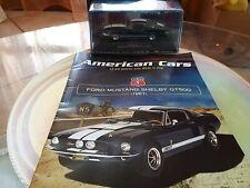 Modellino Ford MUSTANG SHELBY GT500 ANNO 1967 scala 1/43 + TECA da collezione