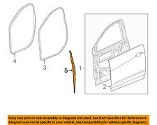 Cadillac GM OEM 17-18 XT5 FRONT DOOR-Weather Strip Right 23198124