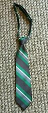 Boys Neck Tie Holiday Christmas Gray Green Size 24M - 4T Childrens Place 2T 3T