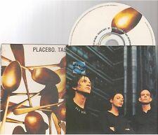 PLACEBO taste in men CD SINGLE white sleeve