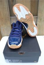 2016 Nike Air Jordan Retro 11 Low Midnight Navy Gum Size US 9.5 W/receipt New