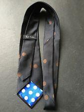 PAUL SMITH Corbata - Gris carbón - De Lunares corbata - 9cm Hoja