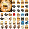 Vintage Wooden Music Box Antique Hand Crank Clockwork Music Box Birthday Gift