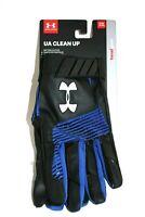 Under Armour UA Clean Up Batting Gloves Black/Royal/White XXL 1299530 003 New
