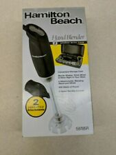 ⭐⭐ Hamilton Beach Black 2 Speed Hand Blender with case NEW IN BOX ⭐⭐