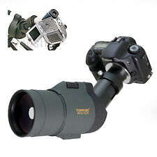 25-75x 1800mm 5500mm Telescope for Canon Rebel 20Da XT Kiss X N 20D 10D Cameras