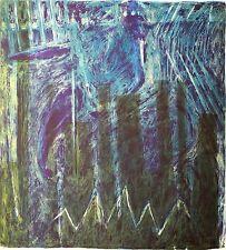 ULRIKE DORNIS - Die Heiligen gehen spazieren - Farblichtdruck 1993