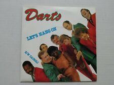 "DARTS Let's Hang On 1980 UK 7"" VINYL SINGLE IN PICTURE SLEEVE CLASSIC POP"