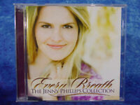 THE JENNY PHILLIPS COLLECTION - Every Breath CD - 18 Tracks Christian Devotional