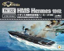 Flyhawk 1/700 1122 HMS Aircraft carrier Hermes 1942