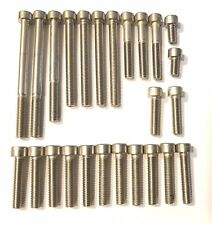 Yamaha TZR125 - A2 Engine Covers Allen Screw Kit
