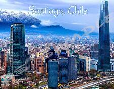 SANTIAGO CHILE - Travel Souvenir Magnet