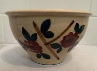 Antique Vintage Stoneware Yellow Ware Mixing Bowl McCoy Watt Robinson Ransbottom