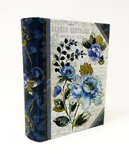Punch Studio Mini Nesting Book Box Etched Roses 65790 Large Flower