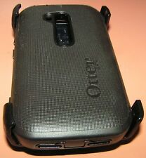 OtterBox Defender case for Nokia Lumia 822, Black w holster belt clip NEW