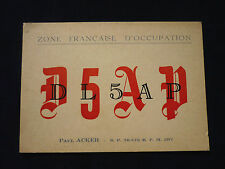 CARTE : ZONE FRANCAISE D'OCCUPATION : AVIGNON    !