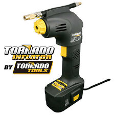 Tornado Tools 116 PSI Portable Rechargeable Cordless Tire Inflator