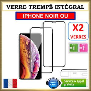 VERRE TREMPE IPHONE VITRE PROTECTION INTEGRAL 6 6S PLUS 7 8 X XR XS MAX 11 PRO