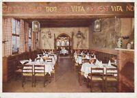 "uralte AK Restaurant ""Schwarzer Bär"" Speisesaal Göttingen Feldpost 1941 //29"