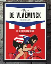 Roger de vlaeminck classics tour de france cycling unframed cycling print