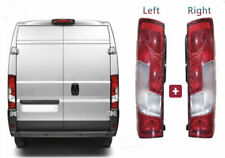 Fiat Ducato Rear Tail Light Lamp Lens Right Left Pair Set 2014 2017