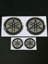 kit adesivi yamaha diapason r1 r6 tmax xmax xcity argento cromo in resina gel 3D