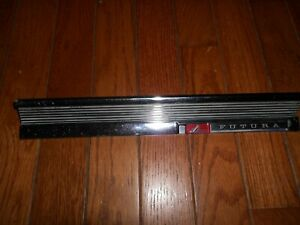 VERY NICE - RARE HEAVY ORIGINAL -1963 FORD FALCON FUTURA Glove Box Moulding Trim