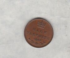 More details for 1844 victorian half farthing in extremely fine condition