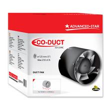 Advanced Star Eco Duct Fan 5 (125mm) Inch Intake / Extraction Hydroponics