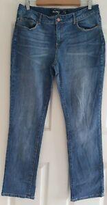 Ladies size 16 blue straight leg denim jeans - JAY Jays