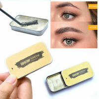 Lasting 3D Feathery Eyebrows Cream Brow Styling Soap+Brush Tint Fixed Gel Set aa