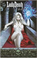 Lady Death Pin Ups 1. Naughty Coffin Edition. #9/99. Mad Monster Party Exclusive