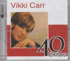 NEW- 40 Exitos 2CDS Vikki Carr 5099952054020 SHIPS NOW!