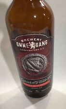 2014 HBO Game Of Thrones Valar Morghulis Ommegang Brewery 750 glass beer bottle
