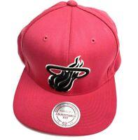 Miami Heat Mitchell Ness Snapback NBA Hat  Pink  NWOT