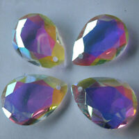10PCS PENDANT FACETED CUT GLASS CRYSTAL BEADS Hanging 16mm