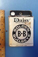 Vintage Daisy Golden Bullseye B-B's Ammo Box #40 1500 Count