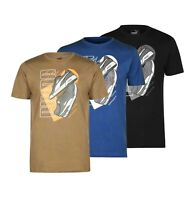 Mens Puma Casual Short Sleeves Printed Sneaker QT T Shirt Sizes from S to XXL