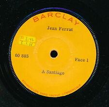 JEAN FERRAT 45 TOURS FRANCE PROMO A SANTIAGO