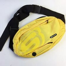 Skechers Unisex Adult Bright Yellow Black Large Fanny Pack Waist Pouch Bag New