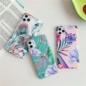 New flower phone case For iPhone XR 11 Pro XS MAX X 6 7 8 Plus
