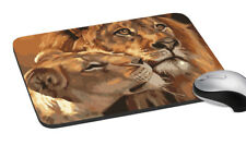 Lion Printed Mouse Pad Comfort Wrist Support Mouse Mice Mat PC Laptop Non Slip