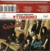 """Heartbreak Station by Cinderella (Cassette, Nov-1990) """"Shelter Me"""""""