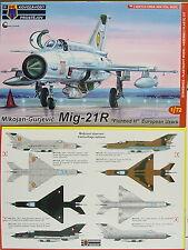 "MiG-21 R ""Fishbed H"" ,Europa AF ,1:72, KP, Plastik , Neuheit"