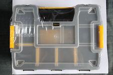 Stanley  SortMaster Organiseur empilable 2 boîtes de rangement