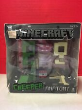 Minecraft Creeper Anatomy Figure Jinx Mojang Damaged Box