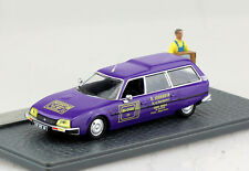 Citroen CX Break TV Geschäft Diorama 1:43 Altaya Modellauto